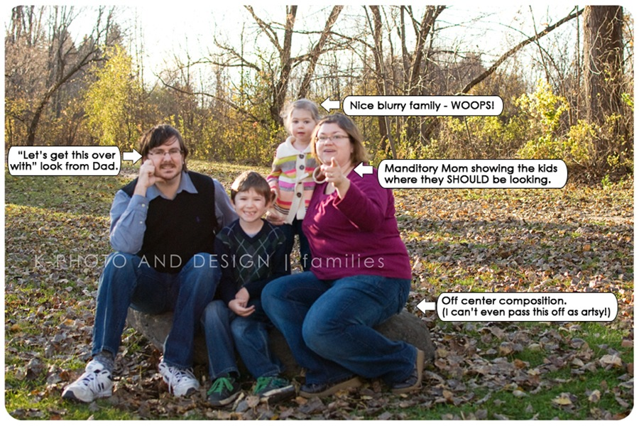 bad family photo