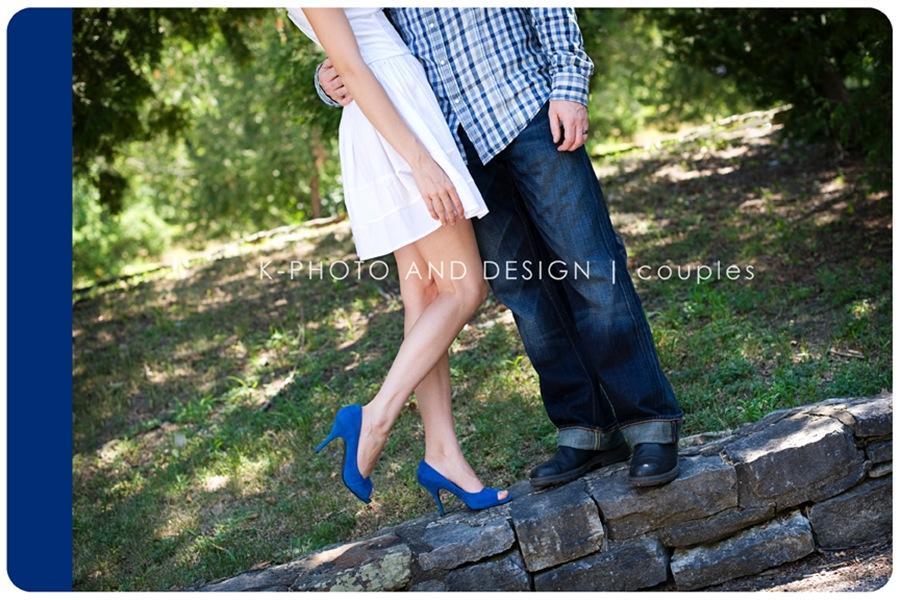 blue sued shoes