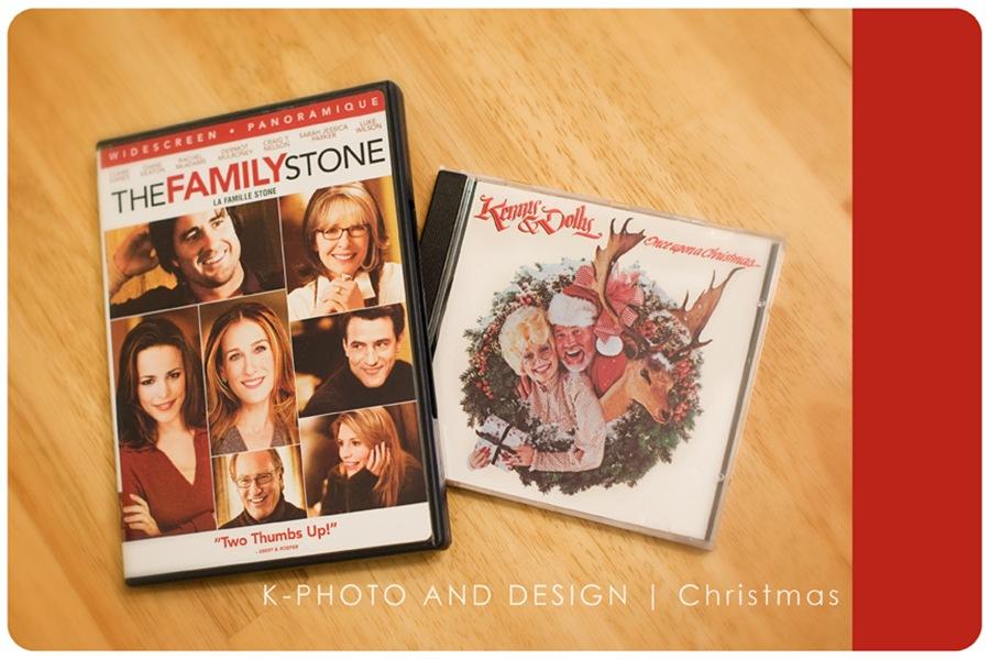 Christmas movie and music